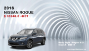 2016 Nissan Rogue Toronto