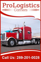 Freight,  Logistic Shipping & Trucking Service in Canada