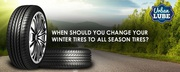 When to Change Your Winter Tires to All Season Tires?
